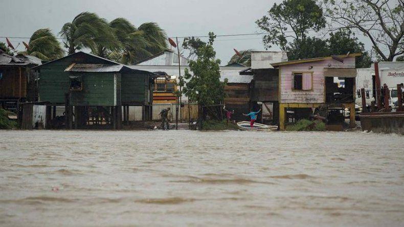 Huracán Eta castiga con fuerza al Caribe Norte de Nicaragua