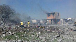 Explosión por juegos pirotécnicos deja 24 muertos en el centro de México