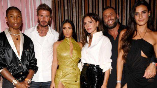 David Beckham congrega a numerosos famosos para apoyar a su Inter de Miami.