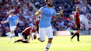 Agüero aporta doblete en triunfo del City sobre Bournemouth