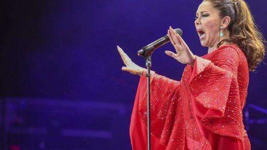 La cantante española Isabel Pantoja