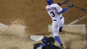 Wright y Granderson encienden el ataque de los Mets y les dan vida