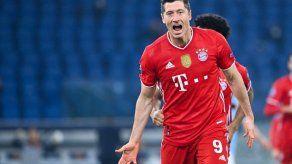Lewandowski elevó a 28 su número de goles en esta Bundesliga