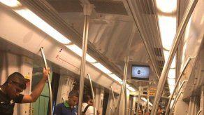 Solucionan falla técnica en el Metro