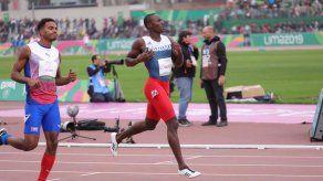 Alonso Edward termina primero en su heat y buscará la medalla en los 200 metros planos