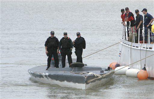 Remolcan hasta Costa Rica submarino con droga