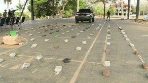 Decomisan paquetes de droga ocultos entre ñame y plátano en Darién