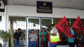 Obreros de Montelimar en La Chorrera protestaron por muerte de trabajador