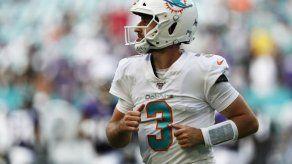 Rosen será el quarterback titular de los Dolphins