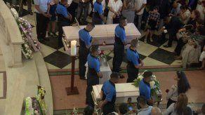 Dan el último adiós a las tres personas que fueron asesinadas en El Tecal