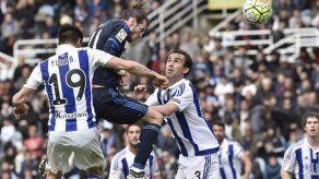 Bale salva al Madrid en Anoeta y lo deja líder provisional