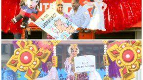 Culmina el jolgorio del Carnaval 2020 con el tradicional topón en el Parque Porras