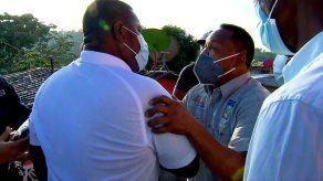 Ánimos caldeados en San Miguelito por mal estado de muro de escuela Martin Luther King