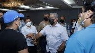 El ministro Sucre se reunió con miembros de la Cciap de Chiriquí y Veraguas para buscar alternativas que mitiguen los efectos económicos que podrían causar los toques de quedas y cuarentenas impuestos a ambas provincias.
