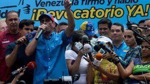 Capriles advierte sobre estallido en Venezuela si Maduro bloquea revocatorio