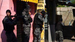 La operación en Brasil se desencadenó en el marco de una investigación sobre una banda que reclutaba niños y adolescentes para el tráfico de drogas, robos y secuestros.