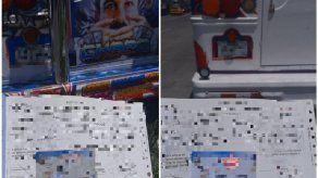 Sancionan a dos conductores de diablos rojos por desorden en el manejo en San Miguelito