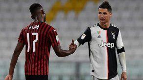 Más de ocho millones de telespectadores siguieron en Italia el Juventus-Milan