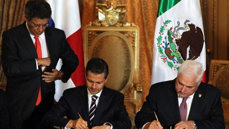 Panamá y México concluyen una minironda de negociaciones para firma de TLC