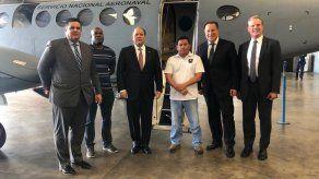 Varela viaja a Estados Unidos y con esto realiza su última misión oficial