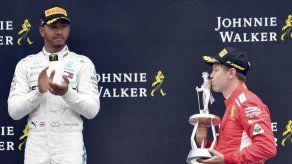 Hamilton se muestra preocupado por velocidad de Ferrari