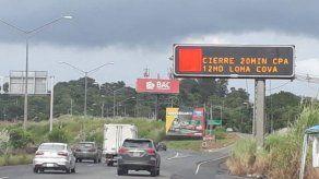 Los trabajos forman parte de la ampliación y rehabilitación de la carretera Panamericana.