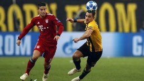Bayern suda para ganar a AEK