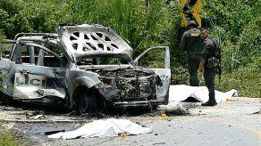 Dos policías muertos en ataque en zona de Colombia donde opera disidencia de FARC