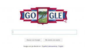 Google dedica su doodle en Panamá a los 113 años de República