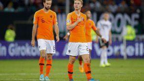 Holanda vence en su visita a Alemania en clasificación a Eurocopa-2020
