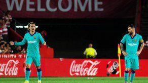 El Granada sorprende 2-0 al Barcelona y es líder provisional
