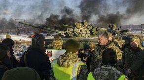 Ucrania pide ayuda a la OTAN ante enfrentamiento con Rusia