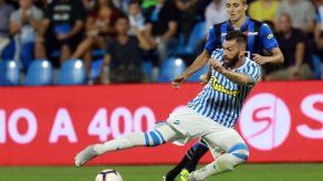 Spal vence 2-0 a Atalanta y es segundo en la Serie A