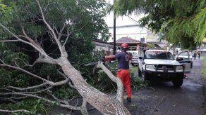 Sistema de baja presión provocará tormentas y fuertes vientos hasta la mañana del viernes en Panamá
