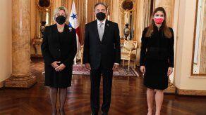 Embajadores presentan credenciales ante el presidente Cortizo
