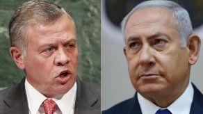 Netanyahu dice que Israel renegociará la cesión de tierras con Jordania