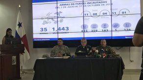 Más de tres mil capturados y más de 100 armas fueron decomisadas de julio a octubre