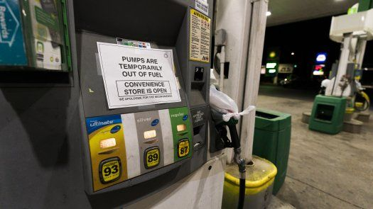 El posible desabastecimiento de gasolina generó compras masivas.