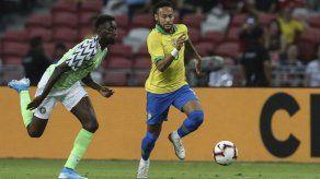 Brasil empata 1-1 con Nigeria