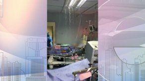 Rotura de tubería afectó área de urgencias de hospital en Chiriquí