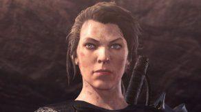 Así luce Milla Jovovich en el videojuego Monster Hunter World: Iceborne