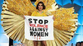 Miss Brasil reclama en Miss Universo el fin de la violencia machista