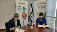La Embajada de Israel firmó el acuerdo con la Asociación Marea Verde.