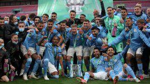 Manchester City gana ante Tottenham la Copa de la Liga