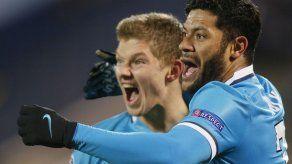 Zenit logra quinta victoria en la Liga de Campeones