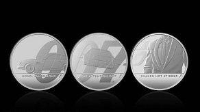 Una moneda de 8.000 euros y 7kg conmemorará la 25ª película de James Bond