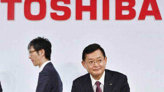 Nobuaki Kurumatani, presidente de Toshiba Corp.