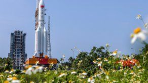 Cohete Long March 5B.