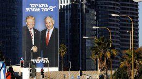 Netanyahu explota imágenes junto a Trump para campaña electoral