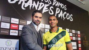 Delantero Tony Taylor es nuevo jugador de Pacos de Ferreira
